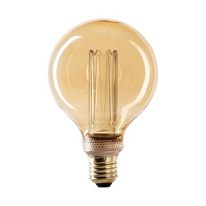 Lámpara Wiva LED antique E27 G95 2,5w