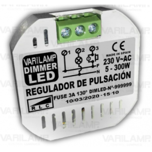Regulador a pulsadores para LED